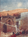 JERUSALEM: Chapel of tomb Virgin at foot Mount Olives, 1902